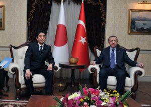 5月3日は何の日【安倍晋三首相】トルコ・エルドアン首相と会談