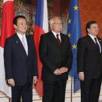 5月4日のできごと【麻生太郎首相】EU首脳と会談