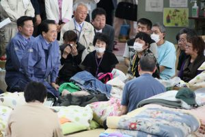 5月4日は何の日【菅直人首相】福島県双葉町の町民と懇談