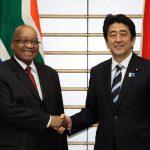 6月4日のできごと【安倍晋三首相】南アフリカ共和国大統領と会談