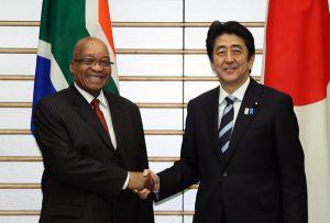 6月4日は何の日【安倍晋三首相】南アフリカ共和国大統領と会談