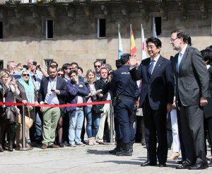 5月4日は何の日【安倍晋三首相】スペイン・ラホイ首相と会談