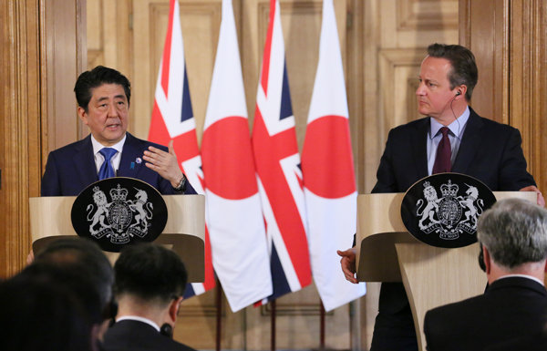5月5日のできごと(何の日)【安倍晋三首相】英・キャメロン首相と会談