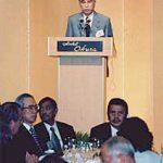 6月3日のできごと【小渕恵三首相】国際交流会議「アジアの未来」晩餐会に出席