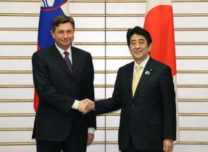 3月6日は何の日【安倍晋三首相】スロベニア大統領と会談