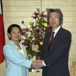 6月6日のできごと【小泉純一郎首相】フィリピン・アロヨ大統領と会談