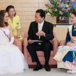 5月6日のできごと【鳩山由紀夫首相】日米さくらの女王が表敬訪問