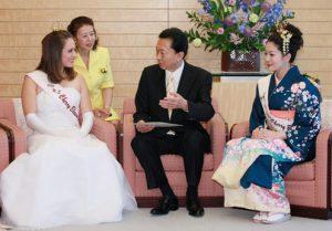 5月6日は何の日【鳩山由紀夫首相】日米さくらの女王が表敬訪問