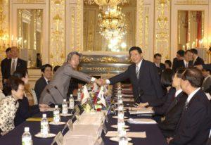 6月7日は何の日【小泉純一郎首相】韓国・盧武鉉大統領と会談