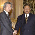 3月7日のできごと(何の日)【小泉純一郎首相】マレーシア国王を表敬