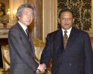 3月7日は何の日【小泉純一郎首相】マレーシア国王を表敬