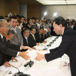 5月7日のできごと【鳩山由紀夫首相】普天間移設問題で徳之島3町長と会談