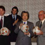 3月8日のできごと(何の日)【小泉純一郎首相】FIFAワールドカップトロフィーツアー出発式に出席