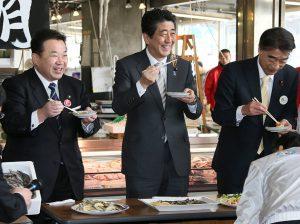 3月8日は何の日【安倍晋三首相】福島県いわき市を訪問