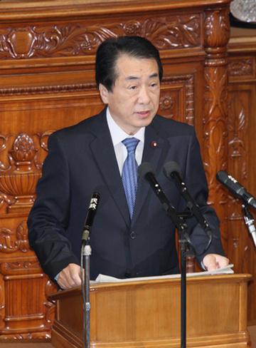 6月11日のできごと(何の日)【菅直人首相】就任後初の所信表明演説