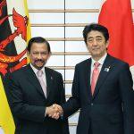 5月13日のできごと【安倍晋三首相】TPPでの協力をブルネイに要請