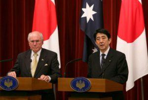 3月13日は何の日【安倍晋三首相】豪・ハワード首相と会談