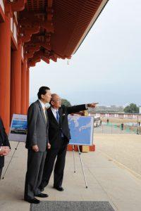 3月13日は何の日【鳩山由紀夫首相】奈良県を訪問