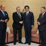 6月26日のできごと(何の日)【安倍晋三首相】IOC調整委員長と会談