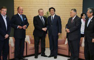 6月26日は何の日【安倍晋三首相】IOC調整委員長と会談