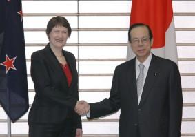 5月14日は何の日【福田康夫首相】ニュージーランド・クラーク首相と会談