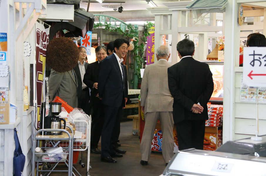 6月14日のできごと(何の日)【安倍晋三首相】島根、鳥取を訪問