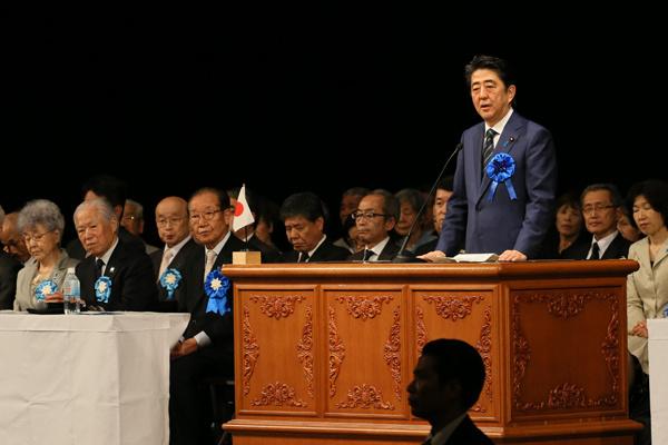 4月26日のできごと(何の日)【安倍晋三首相】拉致被害者家族会の集会に出席