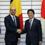 5月13日のできごと【安倍晋三首相】ベルギー首相と会談