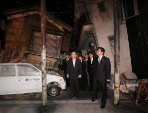 5月16日は何の日【安倍晋三首相】兵庫、和歌山両県を視察