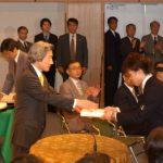 4月16日のできごと【小泉純一郎首相】五輪入賞者に記念品