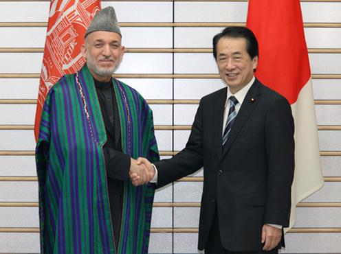 6月17日のできごと(何の日)【菅直人首相】アフガニスタン大統領と会談