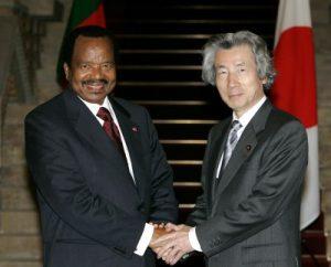 4月17日は何の日【小泉純一郎首相】カメルーン・ビヤ大統領と会談