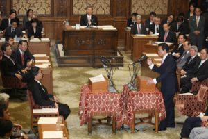 6月17日は何の日【麻生太郎首相】党首討論で窮地脱せず