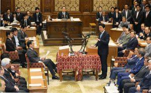 5月18日は何の日【安倍晋三首相】今国会初の党首討論