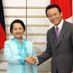 6月18日のできごと(何の日)【麻生太郎首相】フィリピン・アロヨ大統領と会談