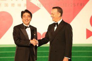 10月17日は何の日【安倍晋三首相】東京国際映画祭オープニングセレモニーに出席