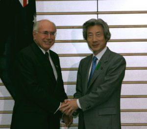 4月20日は何の日【小泉純一郎首相】豪・ハワード首相と会談