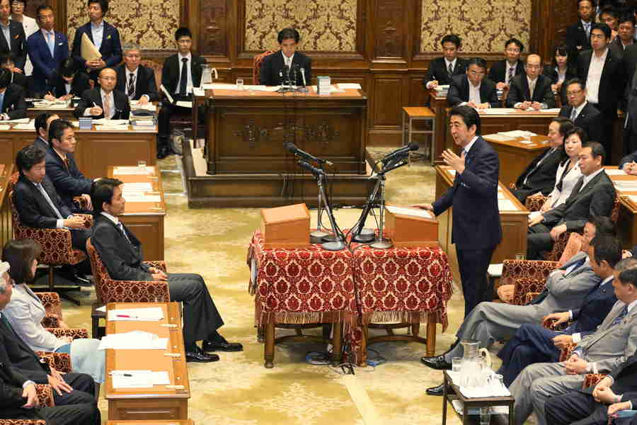 5月20日のできごと【安倍晋三首相】安保法案めぐり野党党首と論戦