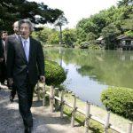 5月21日のできごと【小泉純一郎首相】兼六園などを訪問
