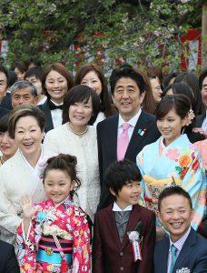 4月20日は何の日【安倍晋三首相】「桜を見る会」開催
