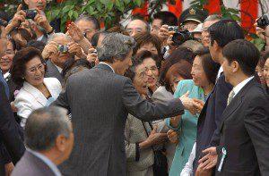 4月20日は何の日【小泉純一郎首相】「桜を見る会」開催