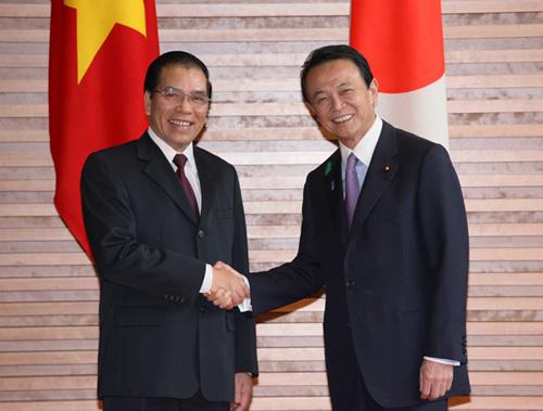 4月20日のできごと(何の日)【麻生太郎首相】ベトナム・マイン書記長と会談