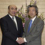 4月21日のできごと(何の日)【小泉純一郎首相】キルギス共和国大統領と会談