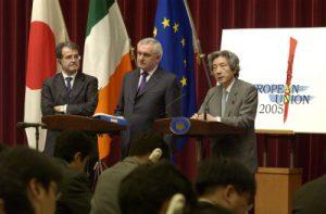 6月22日は何の日【小泉純一郎首相】EU首脳と会談