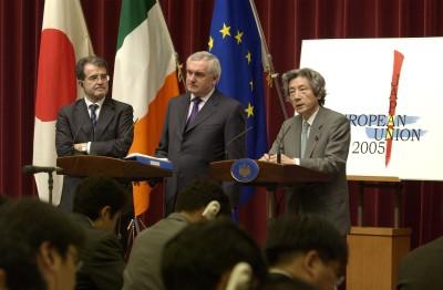 6月22日のできごと(何の日)【小泉純一郎首相】EU首脳と会談