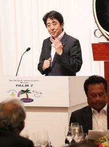 5月22日は何の日【安倍晋三首相】サモアなどに45億円の支援を表明