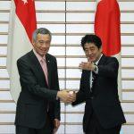 5月22日のできごと(何の日)【安倍晋三首相】シンガポール首相と会談