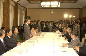 6月22日は何の日【小泉純一郎首相】特殊法人等改革推進本部会合に出席