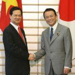 5月22日のできごと(何の日)【麻生太郎首相】ベトナム・ズン首相と会談