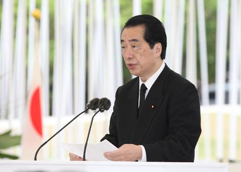 6月23日のできごと(何の日)【菅直人首相】沖縄全戦没者追悼式に出席